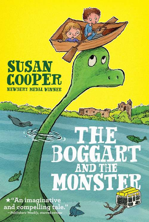 The Boggart and the Monster (Boggart #2)