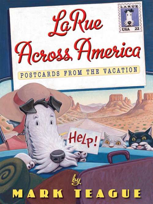 Collection sample book cover LaRue Across America: Postcards from the Vacation