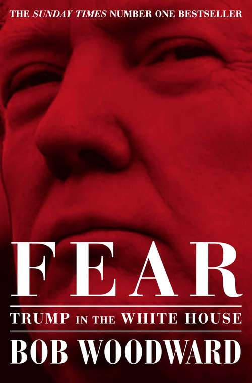 Collection sample book cover Fear by Bob Woodward