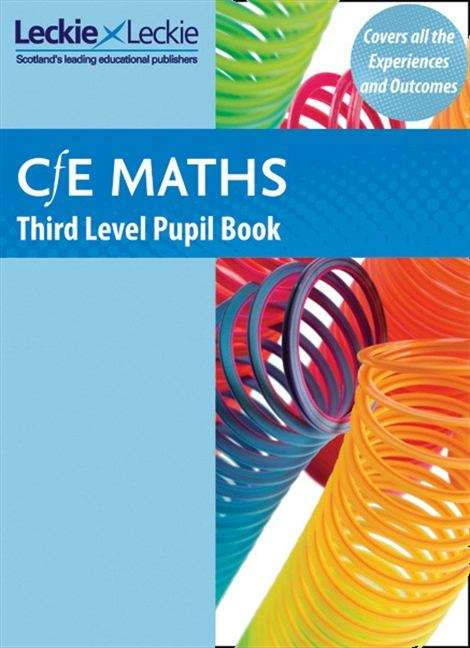 CfE Maths Third Level Pupil Book (PDF) | UK education collection
