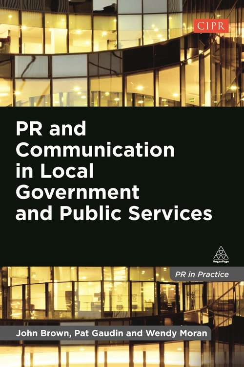 PR and Communication in Local Government and Public Services