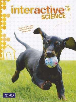 Placeholder example book cover, Interactive Science [Grade 1]