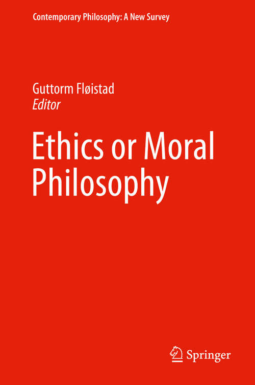 the views on moral and social philosophy Ancient philosophy plato's concept of justice: an analysis dr bhandari jnv university abstract: in his philosophy plato gives a prominent place to the idea of justice plato was highly dissatisfied with the prevailing degenerating conditions in.