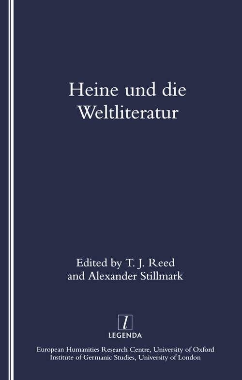Heine Und Die Weltliteratur
