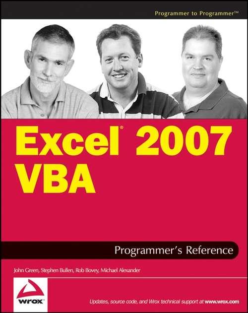 Excel© 2007 VBA Programmer's Reference