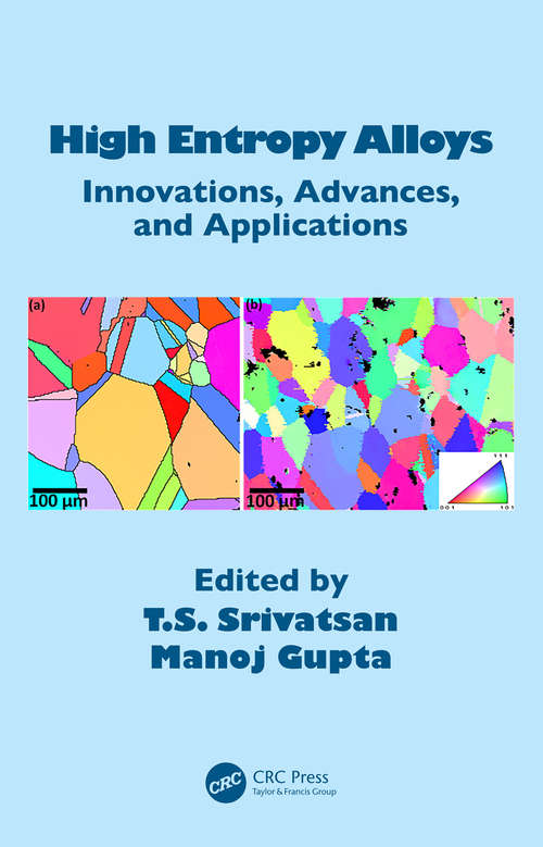High Entropy Alloys: Innovations, Advances, and Applications