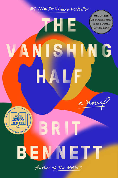 Collection sample book cover The Vanishing Half by Brit Bennett