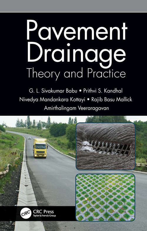 Pavement Drainage: Theory and Practice