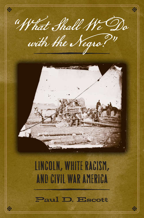 """""""What Shall We Do with the Negro?"""": Lincoln, White Racism, and Civil War America"""