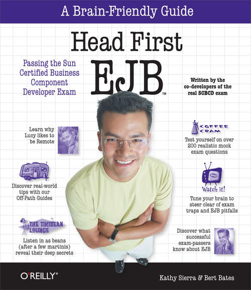Head First EJB: Passing the Sun Certified Business Component Developer Exam (Head First)