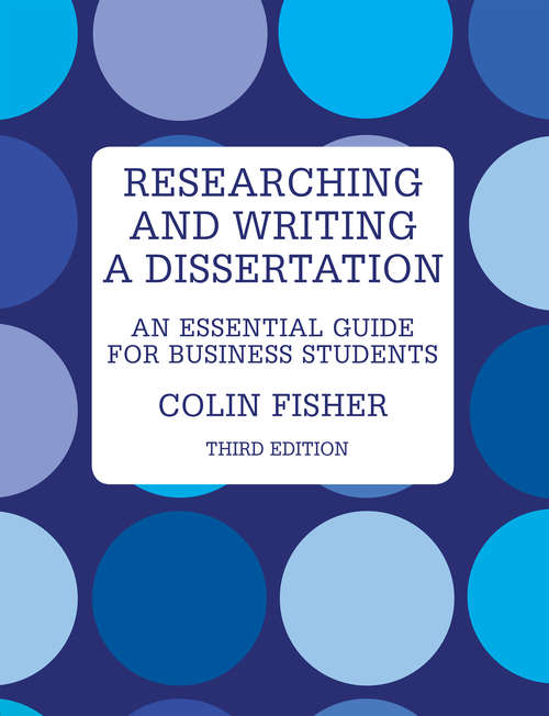 researching writing dissertation business students Researching and writing dissertations in researching and writing a dissertation for - buy researching and writing a dissertation for business students.