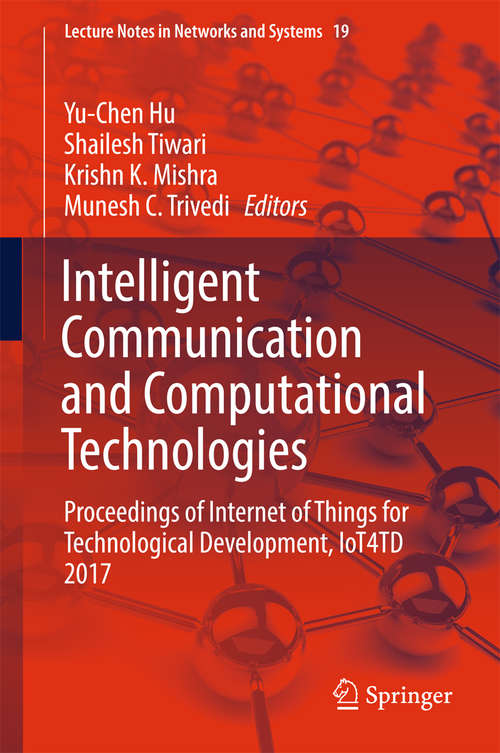 Intelligent Communication and Computational Technologies