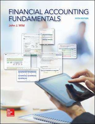 Financial Accounting Fundamentals (Fifth Edition)