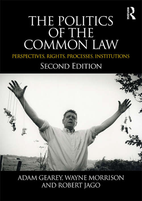 The Politics of the Common Law: Perspectives, Rights, Processes, Institutions