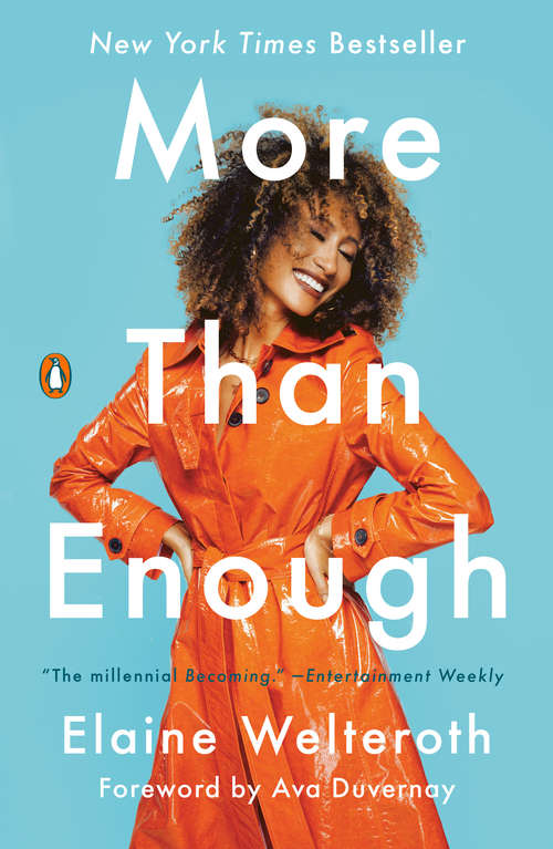 Collection sample book cover More Than Enough by Elaine Welteroth