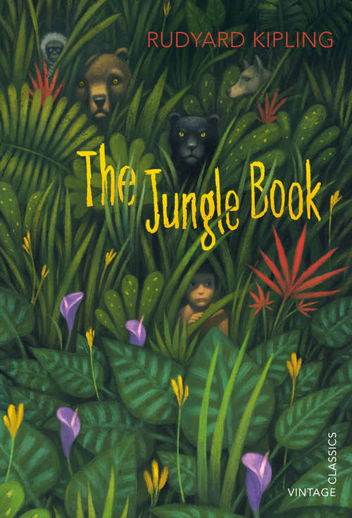 Collection sample book cover The Jungle Book by Rudyard Kipling