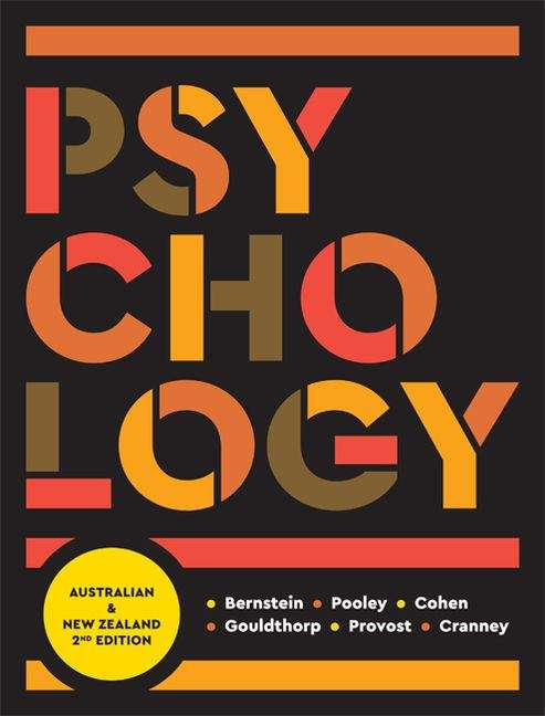 Psychology: Australia And New Zealand